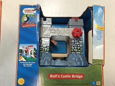 Rolf's Castle Bridge for the Thomas & Friends Wooden Railway System New in Worn