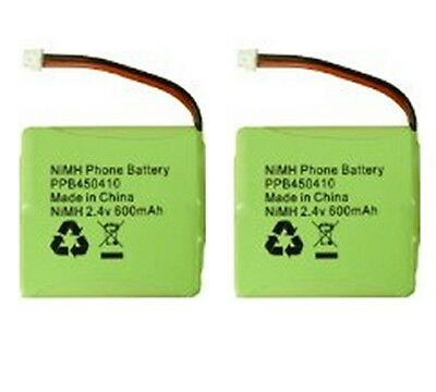 2 x BT Verve 450 410 Cordless Telephone Battery 5M702BMX NiMH 2.4V 600mAh