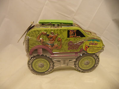 Scooby Doo 3D Truck Collectible Candy Tin Lunch Box