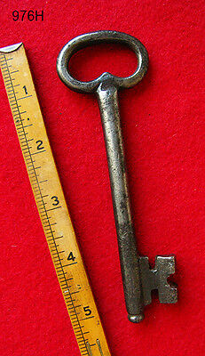Genuine Antique Iron Skeleton Key - 1700's London England - More Rare Keys Here