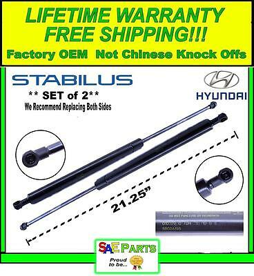 *NEW* - Set of 2 - Hyundai Rear Pair Tailgate Lift Hatch Trunk Strut Support Arm