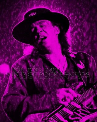 Stevie Ray Vaughan Poster Photo 16x20 inch Ltd Ed Custom Design Art Print  LFE4