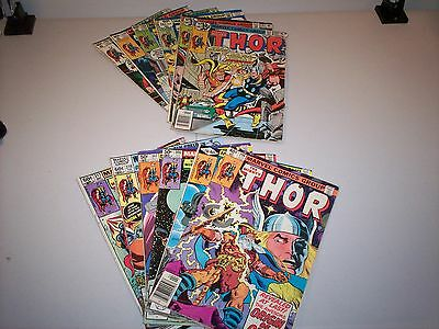 The Mighty Thor 1970's - 80's Marvel Comics 42 Book Lot