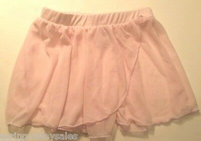 Danskin Now Pink Ballet Dance Leotard Cover Short SKIRT Girl's M 7/8