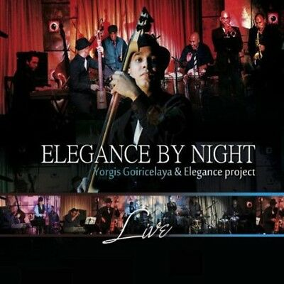 Elegance By Night Live (2013, DVD NUEVO) (REGION 1)