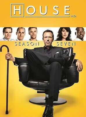 House: Season Seven (2015, DVD NUEVO)5 DISC SET (REGION 1)