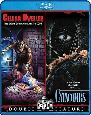 Cellar Dweller / Catacombs Double Feature (2015, Blu-ray NUEVO) (REGION A)