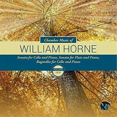 Chamber Music Of Willliam Horne 1 - William / Crosmer,Jeremy /  (2015, CD NUEVO)