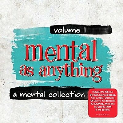 Vol. 1-A Mental Collection - Mental As Anything (2016, CD NUEVO)5 DISC SET