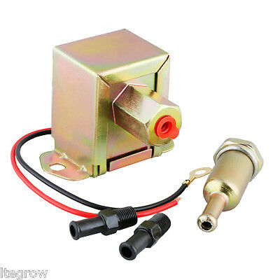 New 12V Universal Electric Inline Fuel Pump Diesel Petro for Nissan Mazda Toyota