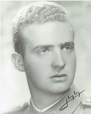 KING JUAN CARLOS - Signed portrait
