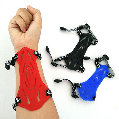 2-Strap Shooting Target Archery Arm Guard Protection Soft Rubber Arm Guard