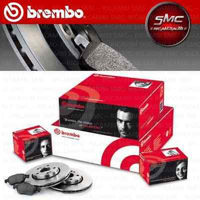 KIT DISQUES + PLAQUETTES BREMBO AVANT OPEL ASTRA H GTC (L08) 1.9 CDTi 110KW