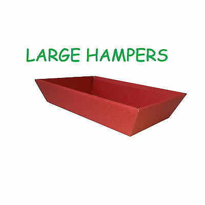 10 LARGE DIY hamper boxes florists gift sweet box chocolate soap candle crafts
