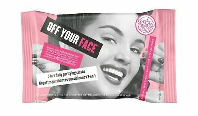 Soap And Glory Off Your Face 3 In 1 Daily Purifying Cleansing Cloths 25 Cloths