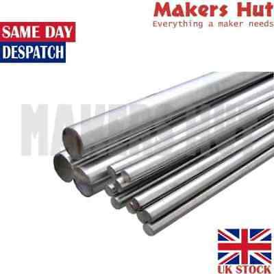 8mm - 30mm Diameter Rods Stainless Steel Round Bar Metal 3D Printer CNC