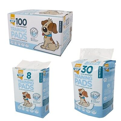 Armitage Good Boy Dog Puppy Ultra Absorbent Toilet Training Pads 8's 30's 100's