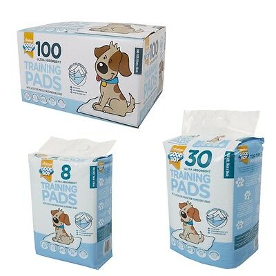 Good Boy Dog Puppy TOILET TRAINING PADS Urine Ultra Absorbent Triple Protection