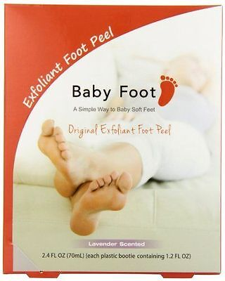 Baby Foot Deep Exfoliation For Feet peel, lavender scented,70 ml