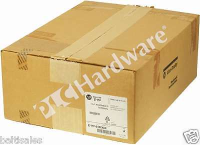 New Sealed Allen Bradley 2711P-B10C4D8 /A PanelView Plus 6 1000 Key/Touch, Read
