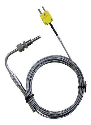 Exhaust Gas Temperature (EGT) Probe with Exposed Tip & Mini K Type Connector 3M