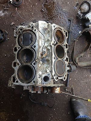 Ford Probe 1995 2.5 V6 Kl Engine, Short Engine Block, Crank And Pistons