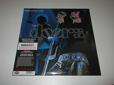 2 LP/THE DOORS/ABSOLUTELY LIVE/Rhino 8122798168/SEALED NEU NEW