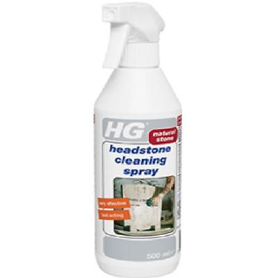 HG HAGESAN HEADSTONE NATURAL GRAVE STONE MARBLE CLEANER SPRAY 500ml CLEANING