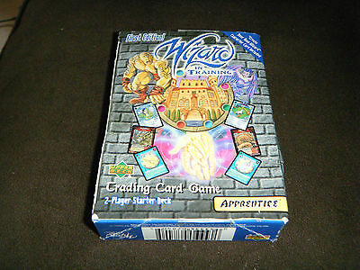 2000 Ud Upper Deck Apprentice Wizard In Training Card Game 1St Edition 2 Player!
