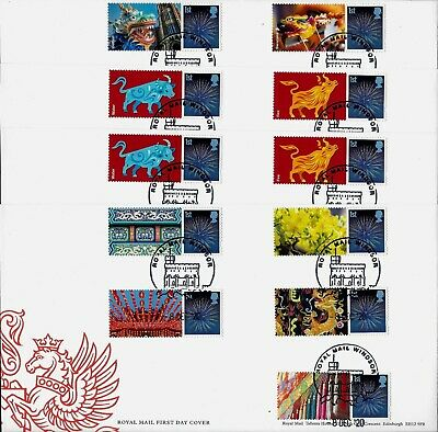 Gb Fdc 2018 - 2014 Tuc 150Th Generic Smiler Collector Commemorative Sheets