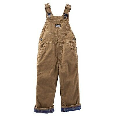 Osh Kosh Corduroy Overalls Flannel Lined 6 9 Months Bottoms Baby & Toddler Clothing