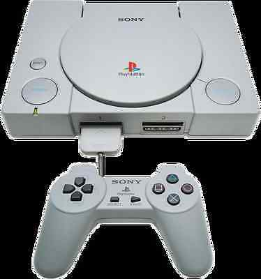 PS1 Sony Playstation 1 PS1 Console - Bundle Joblot INC MEMORY CARD - FREE UK P&P