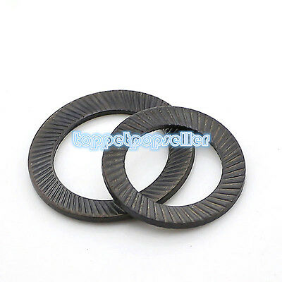 5-20Pcs M4-M30 Carbon steel Schnorr Lock Washers HOT