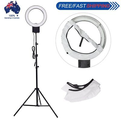 Studio 40W 5400K Daylight Ring Lamp Light + Soft Diffuser Sock w/ 2M Stand