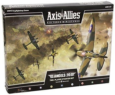 Axis and Allies Miniatures Angels 20 Air Force Starter Set Miniature Game