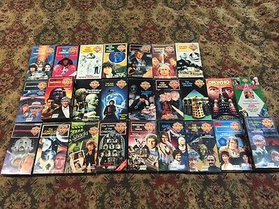 Doctor Who Collection - VHS Lot - 25 Titles