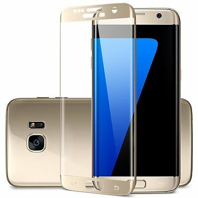 Ultra Thin Clear TPU Gel Case Cover & Tempered Glass for Galaxy S7 Edge