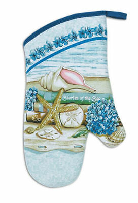 New Kay Dee Designs Stories of The Sea Oven Mitt 100% Cotton