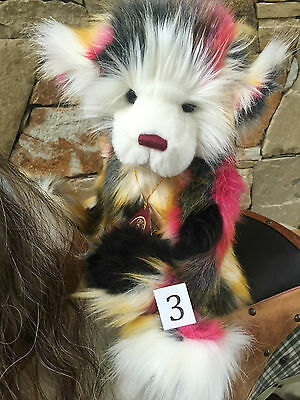 Charlie Bears Yummy Fully Jointed Collectable Teddy Bear 2016 Collection
