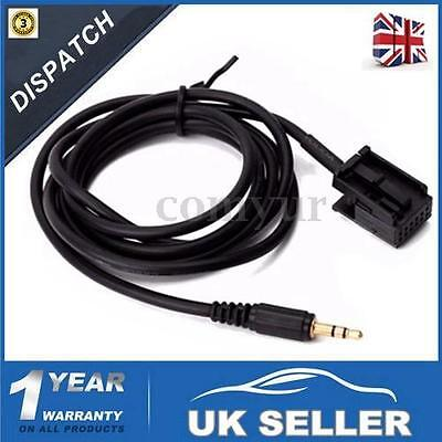 For Ford Focus Mondeo Fiesta 6000CD iPhone MP3 Aux-in Input Adapter CableLead