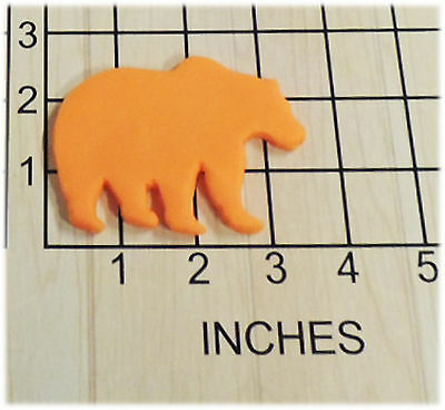 c2a508cffbe4 Black Bear Grizzly Fondant Cookie Cutter  1356