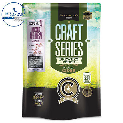 Mangrove Jack's Craft Series Mixed Berry Cider Pouch - 2.4kg - Home Brew