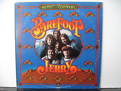 BAREFOOT JERRY Keys to the Country MONUMENT RECORDS VINYL LP Free UK Post