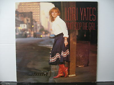 LORI YATES Can't Stop The Girl CBS RECORDS VINYL LP Free UK Post