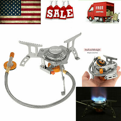 3000W Portable Gas Stove Butane Propane Burner Outdoor Camping Hiking Picnic
