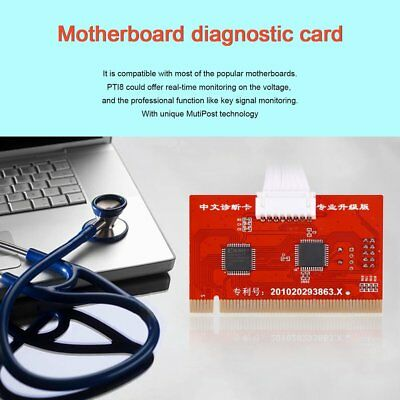 Motherboard Analyzer Diagnostic Post Tester Card For PC Laptop Desktop PTi8 QT