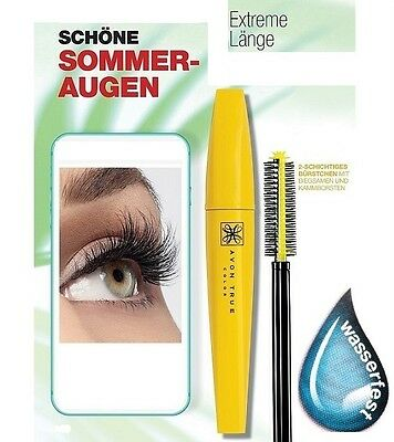 Avon True Colour Superextend Mascara für superlange Wimpern wasserfest Neu