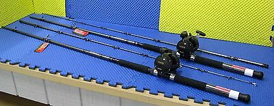 """Daiwa 9' 6"""" Line Counter Trolling Combo WLDR 962MHR 9'6"""" /Magda  MA 45D 2 Pack"""