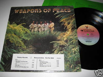 Lp/weapons Of Peace/playboy Records 34747/promo Megarar