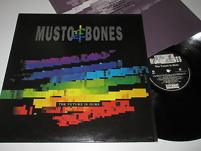 LP/MUSTO & BONES/THE FUTURE IS OURS/Citybeat CBLP 5 +ois